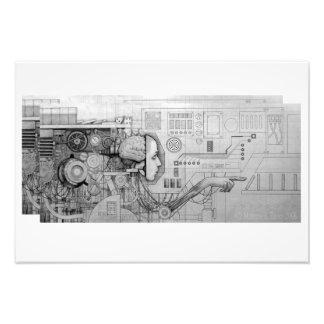 a portrait of determinism photo print