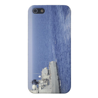 A Portuguese navy team in an inflatable boat iPhone 5 Cases