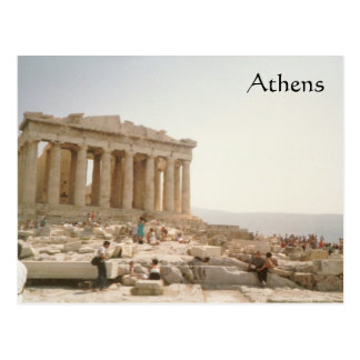A Postcard of Athens Greece