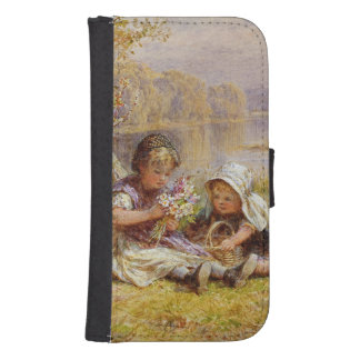 A Posy for Mother, 1867 Phone Wallet Cases