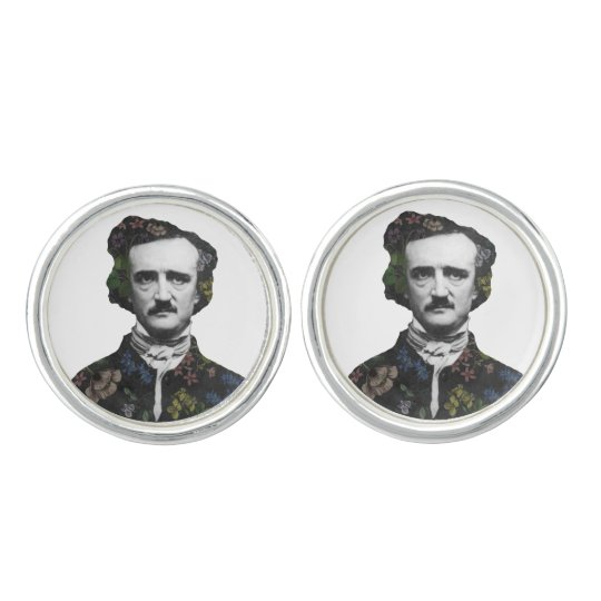 A Posy of Poe Cufflinks