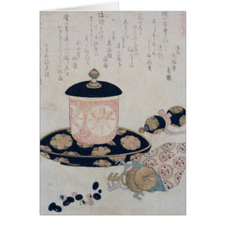 A Pot of Tea and Keys, 1822 Card