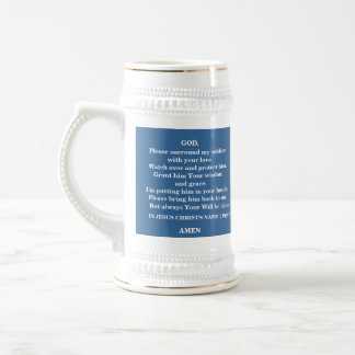 A PRAYER FOR MY SOLDIER - 1118 BEER STEIN