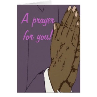 A prayer for you Card