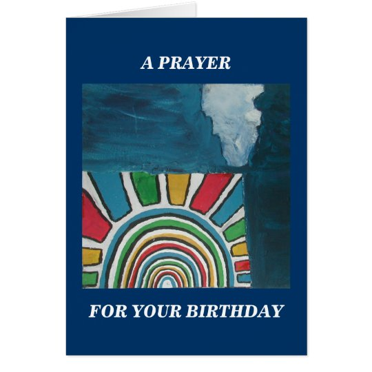 A PRAYER FOR YOUR BIRTHDAY CARD