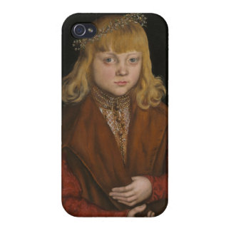 A Prince of Saxony, c.1517 (oil on panel) iPhone 4/4S Case