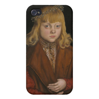 A Prince of Saxony, c.1517 (oil on panel) iPhone 4/4S Cover