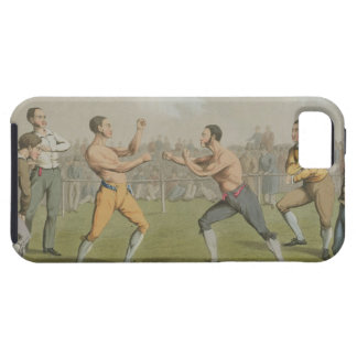 A Prize Fight, aquatinted by I. Clark, pub. by Tho iPhone 5 Covers