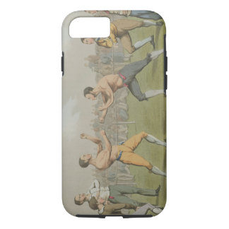 A Prize Fight, aquatinted by I. Clark, pub. by Tho iPhone 7 Case