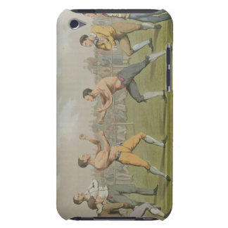 A Prize Fight, aquatinted by I. Clark, pub. by Tho iPod Touch Case
