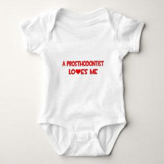 A Prosthodontist Loves Me Baby Bodysuit