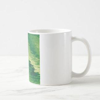 A Puff of Green Smoky Haze Classic White Coffee Mug