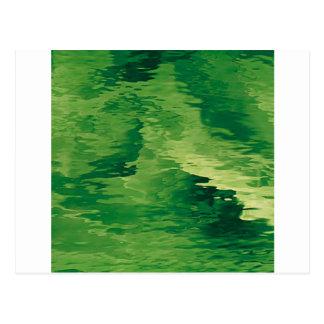 A Puff of Green Smoky Haze Postcard