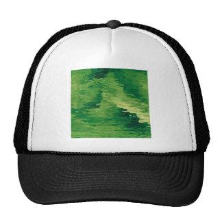 A Puff of Green Smoky Haze Trucker Hat