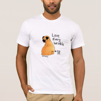 A Pug Wrinkle in Time (Fawn Pug) T-Shirt