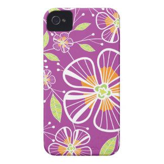 A Purple Bouquet iPhone 4 Case-Mate Case