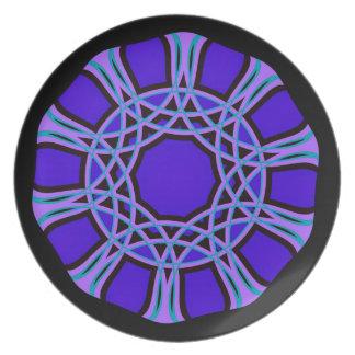 A Purple Craftsman Inspired Pattern Plates