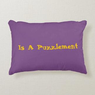 A Puzzlement Pillow