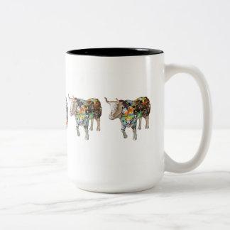"""""""A Puzzling Oxhibition"""" 15 oz mug"""