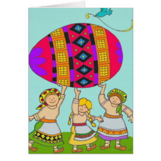 A Pysanka For You Card