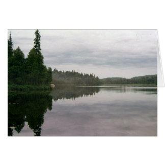 A Quiet Lake Card