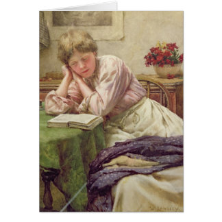 A Quiet Read Card