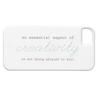a quote to boost your creative spirit!! iPhone 5 cases