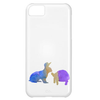 A rabbit and a tortoise iPhone 5C cases