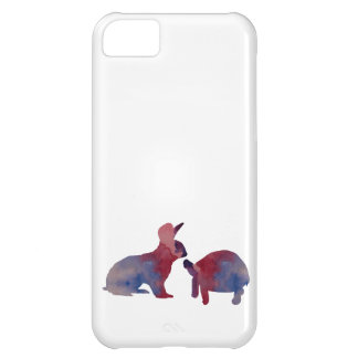 A rabbit and a tortoise iPhone 5C cover