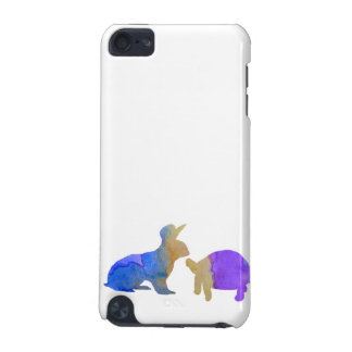 A rabbit and a tortoise iPod touch (5th generation) cases
