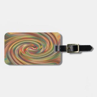 A Rainbow Dust Storm Bag Tag