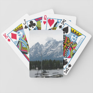 A Rainy Day at Colter Bay Bicycle Playing Cards