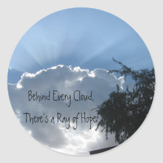 A Ray of Hope Stickers