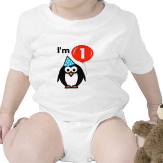 Ă?re chemise de fête d'anniversaire de Babys pour Bodies