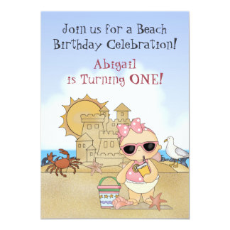 Ă?re invitation d'anniversaire de bébé frais de