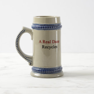 A Real Dane Recycles Beer Stein