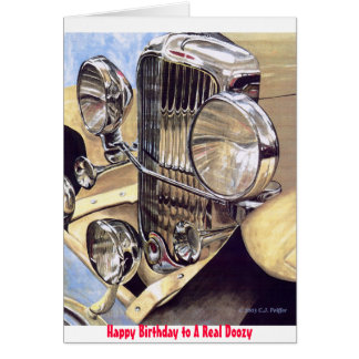 'A Real Doozy' birthday card