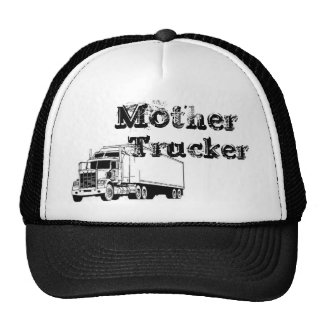 A Real Mother Trucker Mesh Hat