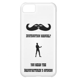 A Real Overly Manly Man - Instruction Manual? iPhone 5C Cases