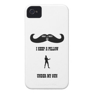 A Real Overly Manly Man - Under My Gun Case-Mate iPhone 4 Case