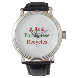 A Real Portuguese Recycles Wristwatch