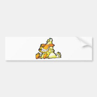 A real quack bumper sticker