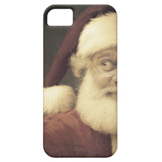 A Real Vintage Christmas Santa Claus iPhone 5 Covers