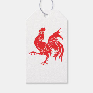 A Red Rooster Gift Tags