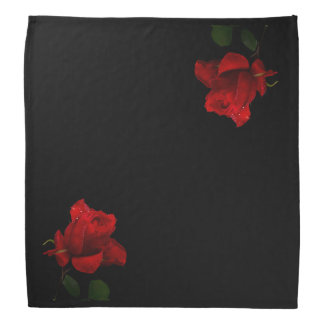 A Red Rose X2 Bandana