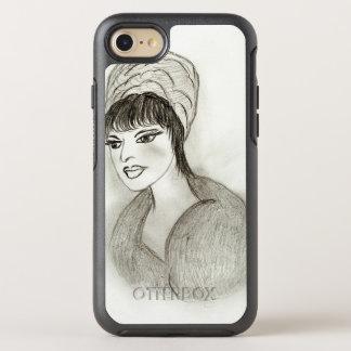 A Retro Girl OtterBox Symmetry iPhone 8/7 Case