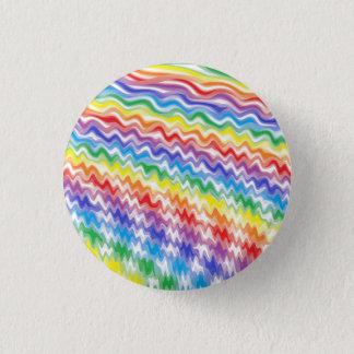 A Rhythmic Rainbow 1 Inch Round Button