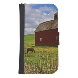 A ride through the farm country of Palouse 3 Samsung S4 Wallet Case