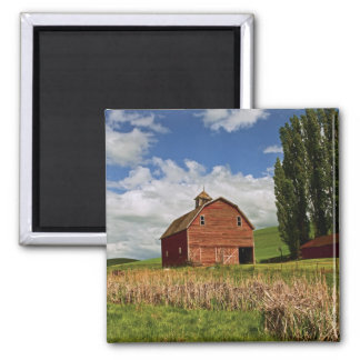 A ride through the farm country of Palouse Magnets