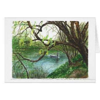 A River Scene Card
